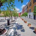 "Plaza ""degli Aranci"" – pavimento acabado flameado"