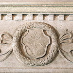 coat of arms bas-relief