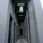 """Friedrichstrasse 118 - revêtement de la façade polie en """"Pietra Serena Extra Dura del Bucine®"""""""