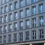 Leibniz Kolonnaden - fornitura blocchi per rivestimento facciata in Pietra Serena