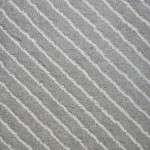surface flammée – rayée diagonale