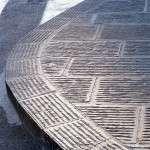 San Casciano - Lieferung des handgerillten Pflasters