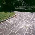 Piazza Donatello - fornitura pavimentazione e cordonato rigato a becco di civetta