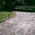 Piazza Donatello – supply of striped bullnose kerb and pavement